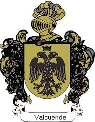 Escudo del apellido Valcuende