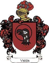 Escudo del apellido Valda