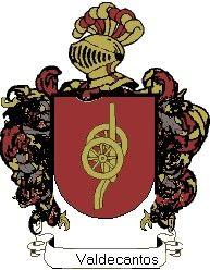 Escudo del apellido Valdecantos