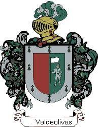 Escudo del apellido Valdeolivas