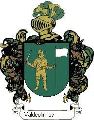 Escudo del apellido Valdeolmillos