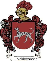 Escudo del apellido Valderrábano