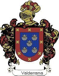 Escudo del apellido Valderrama