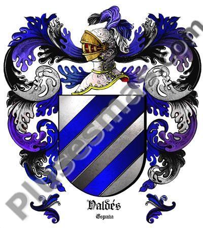 Escudo del apellido Valdés