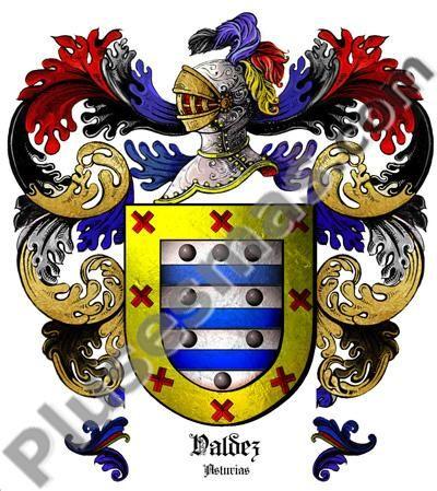 Escudo del apellido Valdez