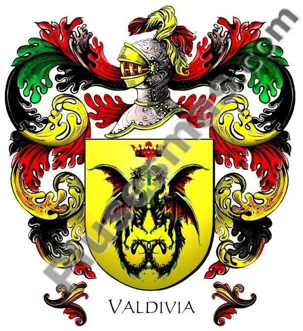 Escudo del apellido Valdivia