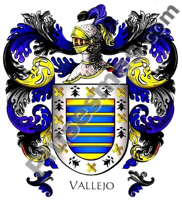 Escudo del apellido Vallejo