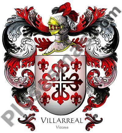 Escudo del apellido Villarreal