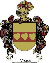 Escudo del apellido Vitores