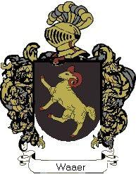 Escudo del apellido Waaer