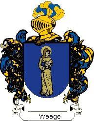Escudo del apellido Waage