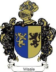 Escudo del apellido Waale
