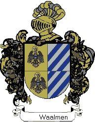 Escudo del apellido Waalmen