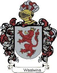 Escudo del apellido Waalwina