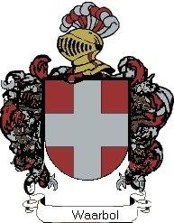 Escudo del apellido Waarbol