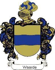 Escudo del apellido Waarde