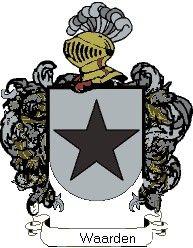 Escudo del apellido Waarden