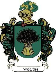 Escudo del apellido Waardre
