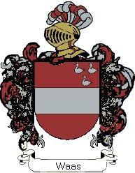 Escudo del apellido Waas