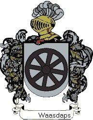 Escudo del apellido Waasdaps