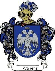 Escudo del apellido Wabene
