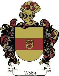 Escudo del apellido Wable