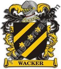 Escudo del apellido Wacker