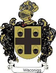 Escudo del apellido Waconigg