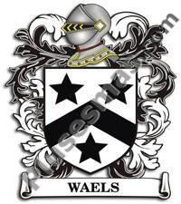 Escudo del apellido Waels