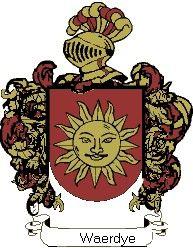 Escudo del apellido Waerdye