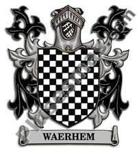 Escudo del apellido Waerhem
