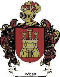 Escudo del apellido Waert