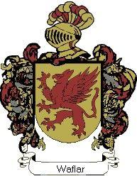 Escudo del apellido Waflar