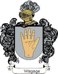 Escudo del apellido Wagage