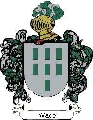 Escudo del apellido Wage