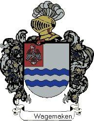 Escudo del apellido Wagemaken