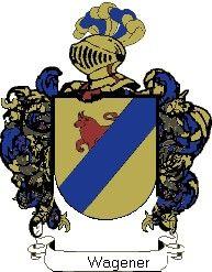 Escudo del apellido Wagener