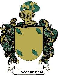 Escudo del apellido Wageninger