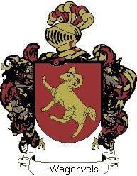 Escudo del apellido Wagenvels