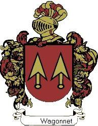 Escudo del apellido Wagonnet
