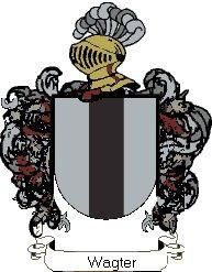 Escudo del apellido Wagter