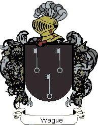 Escudo del apellido Wague
