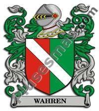 Escudo del apellido Wahren
