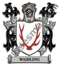 Escudo del apellido Waibling