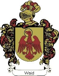 Escudo del apellido Waid