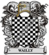 Escudo del apellido Wailly