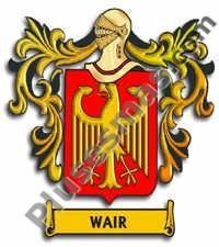 Escudo del apellido Wair
