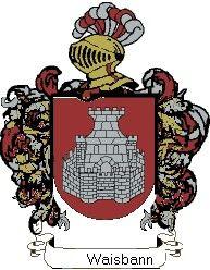 Escudo del apellido Waisbann