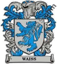 Escudo del apellido Waiss
