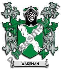 Escudo del apellido Wakeman